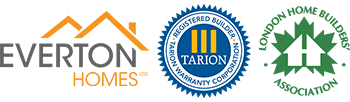 Everton Homes and Tarion Logos